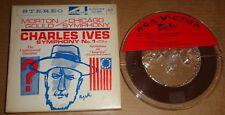 Morton Gould IVES Symphony No.1, Unanswered Question - RCA Reel 4 track FTC-2221