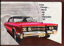 1967 Chrysler 40-page Car Sales Brochure - New Yorker Newport 300 Town Country