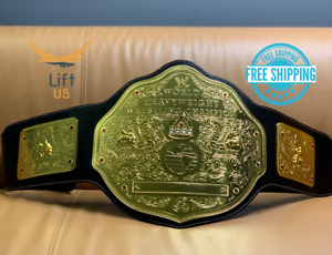 BIG Gold WORLD HEAVY WEIGHT Wrestling CHAMPIONSHIP REPLICA Tittle BELT Brass 2MM