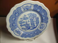 "Spode Blue Room Collection 10 1/2"" Dinner Plate - Pagoda Regency Series"