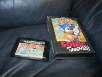 Sonic The Hedgehog Sega Genesis Game