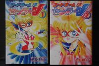 JAPAN Naoko Takeuchi manga: Codename: Sailor V New Edition 1+2 Complete Set