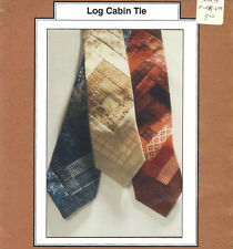 LOG CABIN TIE Quilt Quilting Sewing Pattern UNCUT ©1995 Rag Merchant NIP