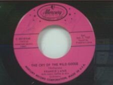 """FRANKIE LAINE """"THE CRY OF THE WILD GOOSE / MULE TRAIN"""" 45 NEAR MINT"""