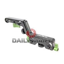 Lanparte OFC-02 Adjustable Offset Z-Shape Clamp Mount Bracket for 15mm Rod