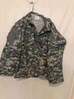 Military Digital Camo Jacket Medium Regular 8415-01-586-0639