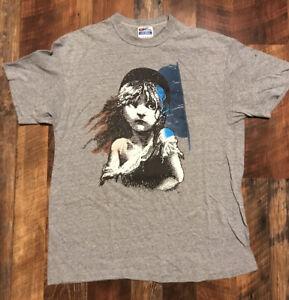 Vintage Les Miserables musical theatre Tshirt size Smovie tshirtMusical drama shirt