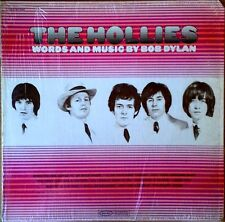 HOLLIES - WORDS AND MUSIC BY BOB DYLAN - EPIC LP - STILL IN SHRINK WRAP
