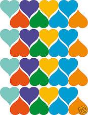 64 stickers Ptit'coeur couleur différentes série colle Hector