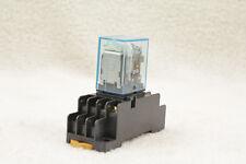 1 Set Base Coil Power Relay 11pin 3no 3nc Hh53p L Led Lamp 5a Ac110v Yb