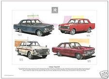Clásico Vauxhall Lámina Artística - VICTOR 101 , Viscount, ¡ Viva Ha & VX 4/90