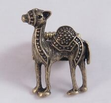 Very Unique & Ornate Antiqued Gold Camel Stretch Ring #R1132