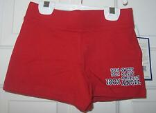 NWT GIRLS RED SPARKLE SHORTS    SIZE XS