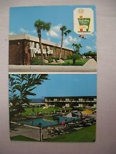 VINTAGE PHOTO POSTCARD OF THE HOLIDAY INN IN TITUSVILLE, FLORIDA 1972