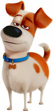 SECRET LIFE OF PETS Dog character MAX the Terrier Mix puppy - Window Cling Decal