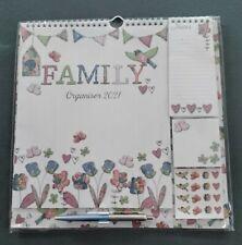 More details for 2021 family organiser/ calendar with pen