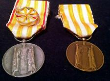 2 French Medals of Honor for Rural and Municipal Police and Public Assistance