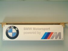 BMW Motorsport alimentato da M Workshop Garage Logo Auto Banner display E30 M3 M5 Z4