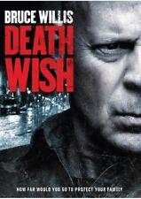 Death Wish (2018) DVD R0 PAL - Eli Roth, Bruce Willis, Crime Action