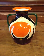 Arcadian Arabian Ware Art Deco Vase Stunning Rare 6 inch