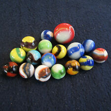 Old Vintage Marble King Marbles(17) Mint
