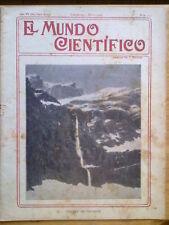 ANTIGUA REVISTA AÑO 1904 MUNDO CIENTIFICO,SORPRENDENTES NOTICIAS,PUBLICIDAD.214