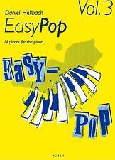 Klavier Noten : EASY POP Heft 3 (Daniel HELLBACH) - leichte Mittelstufe - ACM228