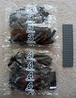 LEGO Lord Of The Rings - Bags 3 & 4 (wall section) w/ Orc Minis - 79007 - New