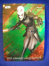2018 Topps Star Wars Finest #42 Grand Inquisitor  Green 98/99
