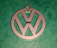 VW Volkswagen en acier inoxydable Noël Arbre de Noel Décoration Porte-clés Badge