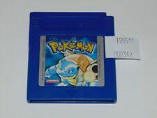 Game Boy: Pokemon Azul (cartucho, versión ESP,  pila nueva)