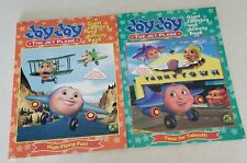 Jay Jay The Jet Plane Rare Coloring & Activity Books. Set of 2