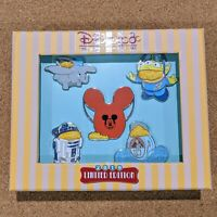 Popcorn Bucket Pin Set 2019 Disneyland Park Foods D23 Expo Exclusive LE 150