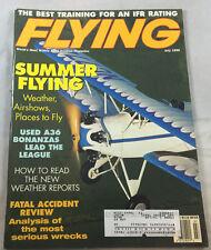 A36 Bonanzas Summer  July 1996  Flying Magazine Airplane Aviation