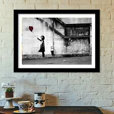 banksy there is always hope poster print all sizes modern art deco banksy
