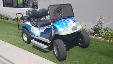 EZGO PDS 4 Passenger Seat Custom Airbrush Lifted Golf Cart