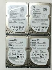 Lot of 4 Seagate ST500LM021  2.5in. SATA 500GB SATA 6Gb/s  Internal Hard Drives