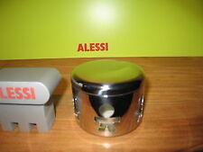 ALESSI *NEW* Fromagère inox brillant et verre, 20cl 9cm h.7cm AKK74