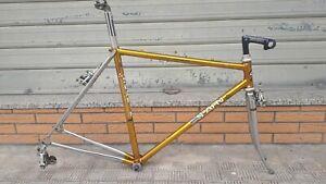 Telaio Scapin cromovelato Oro Columbus Campagnolo Nuovo Gran Sport