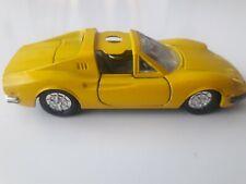 Ferrari 246GTS jaune n°824 Jet car norev