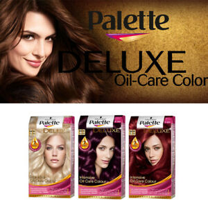 Palette Deluxe Oil-Care Color Permanent Hair Dye With 7 Oils Serum