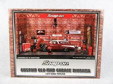 Snap On Custom Glo Mad Garage Diorama New in Box Crown Premiums