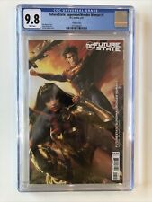 Future State: Superman/Wonder Woman #1 CGC 9.8 Jeremy Roberts variant cover