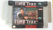 SUPER NINTENDO SNES EMPTY BOX ONLY TIME TRAX