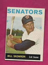 1964 TOPPS # 445 SENATORS BILL SKOWRON NRMT+ CARD (INV# A4840)
