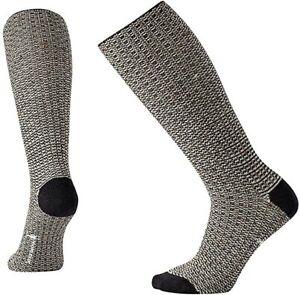 Smartwool Women's Premium Broadmoore Marl Boot Socks Charcoal Heather Medium
