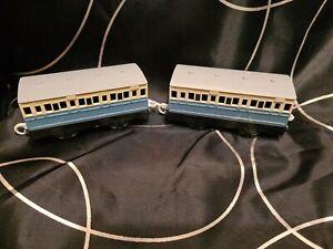 Tomy Thomas Trackmaster  Freddies blue Passenger Coaches