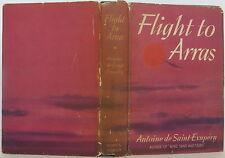 ANTOINE DE SAINT-EXUPERY Flight to Arras INSCRIBED FIRST EDITION