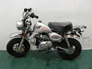 Skyteam Monkey Skymini 125cc E4 MODELL 2020 elektronischer Vergaser silber