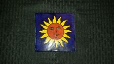 Saltillo Tile with Sun on tile 4x4 inches per square.